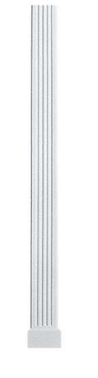 decorative plaster column