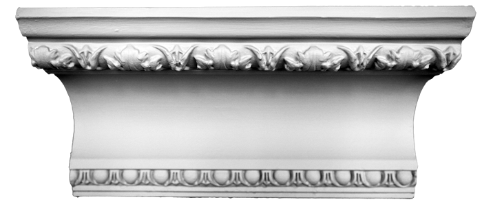 decorative plaster cornice image