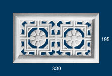 decorative plaster vents
